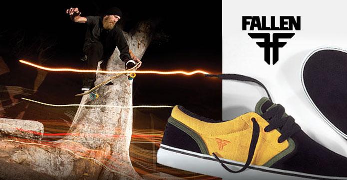 Compra tenis Fallen Footwear, envio a todo México